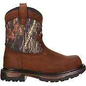 "Rocky Kids' Ride Wellington 8"" Waterproof Field Hunting Boots"