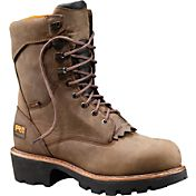 "Timberland PRO Men's Rip Saw Logger 9"" Waterproof Work Boots"