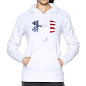 Under Armour Women's Armour Fleece Big Flag Logo Hoodie
