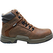 "Wolverine Men's Griffin 6"" Waterproof DuraShocks Work Boots"