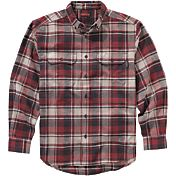 Wolverine Men's Redwood Heavyweight Flannel Long Sleeve Shirt