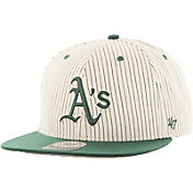 '47 Men's Oakland Athletics Woodside Captain Pinstripe Adjustable Hat