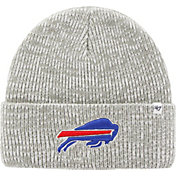 '47 Men's Buffalo Bills Brain Freeze Grey Knit Beanie