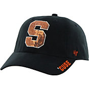 '47 Women's Syracuse Orange Blue Clean Up Sparkle Adjustable Hat
