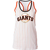 5th & Ocean Women's San Francisco Giants Pinstripe White Tank