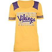 5th & Ocean Minnesota Vikings Tri-Blend Purple T-Shirt