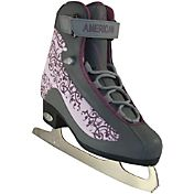 American Athletic Shoe Women's Plum Soft Boot Figure Skates