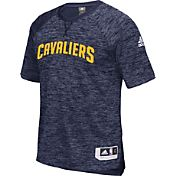 adidas Men's Cleveland Cavaliers On-Court Navy Shooting Shirt
