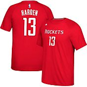 adidas Men's Houston Rockets James Harden #13 climalite Red T-Shirt