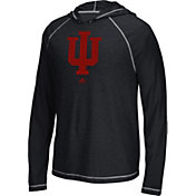 adidas Men's Indiana Hoosiers Black Climalite Ultimate Long Sleeve Hoodie