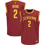 adidas Youth Cleveland Cavaliers Kyrie Irving #2 Road Burgundy Replica Jersey