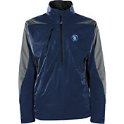 Antigua Men's San Diego Padres Pullover Navy Discover Jacket
