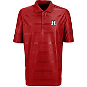 Antigua Men's Rutgers Scarlet Knights Scarlet Illusion Performance Polo