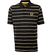 Antigua Men's Boston Bruins Deluxe Black Polo Shirt