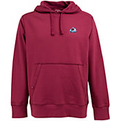 Antigua Men's Colorado Avalanche Burgundy Signature Fleece Hoodie