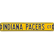 Authentic Street Signs Indiana Pacers Yellow Court Sign