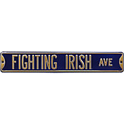 Authentic Street Signs Notre Dame Fighting Irish Avenue Sign