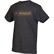 boxercraft Men's Western Michigan Broncos Grey Just for You Crew Block Wordmark and Logo T-Shirt
