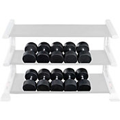 Body Solid SDPS900 Premium Rubber Dumbbell Set