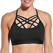 CALIA by Carrie Underwood Women's Inner Power Front Strap Sports Bra