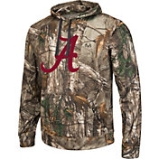 Colosseum Athletics Men's Alabama Crimson Tide Camo Breech Pullover Hoodie