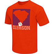 Colosseum Athletics Men's Clemson Tigers Orange State of the Union T-Shirt