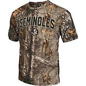 Colosseum Athletics Men's Florida State Seminoles Camo Brow Tine T-Shirt