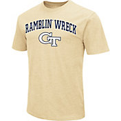 Colosseum Athletics Men's Georgia State Panthers Blue Team Slogan T-Shirt
