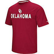 Colosseum Athletics Men's Oklahoma Sooners Crimson Pique Performance T-Shirt