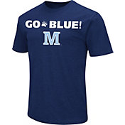 Colosseum Athletics Men's Maine Black Bears Navy Team Slogan T-Shirt