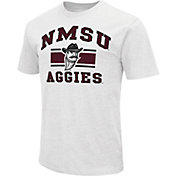 Colosseum Athletics Men's New Mexico State Aggies White Dual-Blend T-Shirt