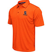 Colosseum Athletics Men's Syracuse Orange Orange Heathered Performance Polo