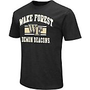Colosseum Athletics Men's Wake Forest Demon Deacons Black Dual Blend T-Shirt