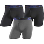 Champion Men's Cotton Performance Boxer Briefs 3 Pack