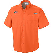 Columbia Men's Florida Gators Orange Tamiami Performance Shirt