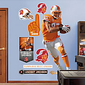 Fathead Vincent Jackson #83 Tampa Bay Buccaneers Throwback Real Big Wall Graphic