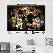 "Fathead Drew Brees Passing Record ""In Your Face"" Wall Graphic"