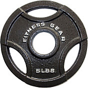 Fitness Gear 5 lb Olympic Cast Plate