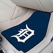 FANMATS Detroit Tigers Printed Car Mats 2-Pack
