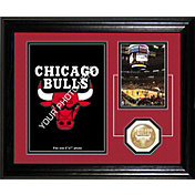 The Highland Mint Chicago Bulls Desktop Photo Mint