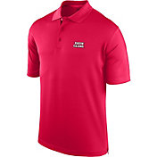 J. America Men's Louisiana-Lafayette Ragin' Cajuns Red Spector Polo