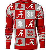 Klew Men's Alabama Crimson Tide Crimson Ugly Sweater