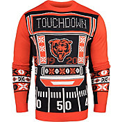 KLEW Men's Chicago Bears Light Up Ugly Sweater