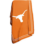 Logo Texas Longhorns Classic Fleece Throw Blanket