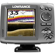 Lowrance Hook-5x Fish Finder / Chartplotter Combo with Mid/High/DownScan