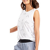 lucy Women's All Over Poses Graphic Tank Top