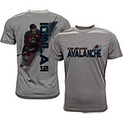 Levelwear Men's Colorado Avalanche Jarome Iginla #12 Grey Spectrum T-Shirt