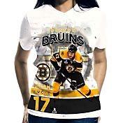 Levelwear Women's Boston Bruins Milan Lucic #17 Center Ice White T-Shirt