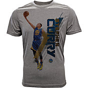 Levelwear Youth Golden State Warriors Stephen Curry Fadeaway Grey T-Shirt