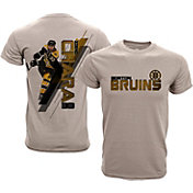 Levelwear Youth Boston Bruins Zdeno Chara #33 Charcoal Spectrum T-Shirt